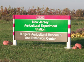 Photo of Rutgers Agricultural Research and Extension Center.